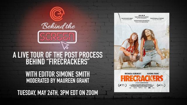 Behind the Screen: Firecrackers