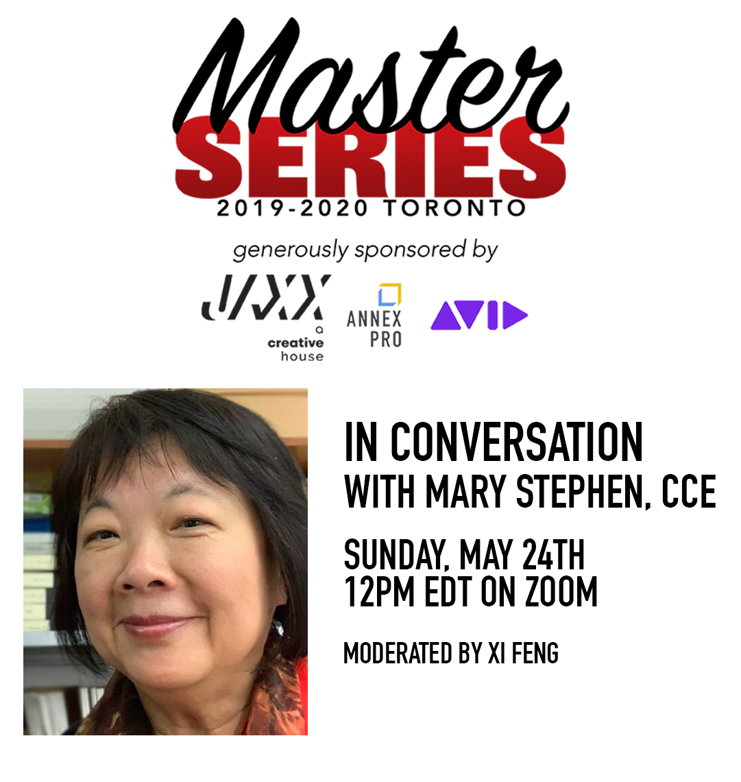 Master Series: In Conversation with Mary Stephen, CCE