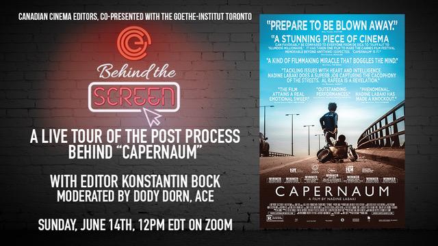 Behind the Screen: Capernaum
