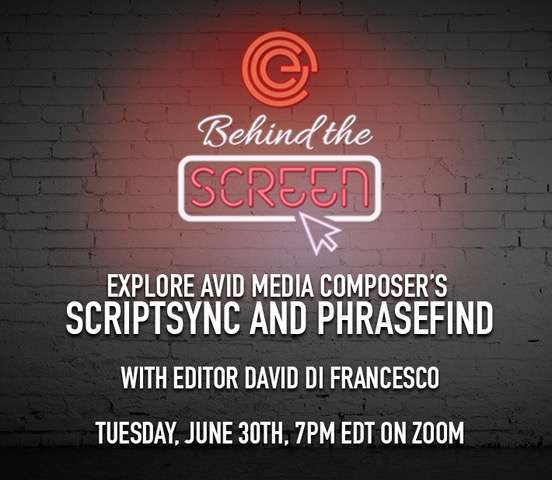 Behind the Screen: Avid ScriptSync & PhraseFind