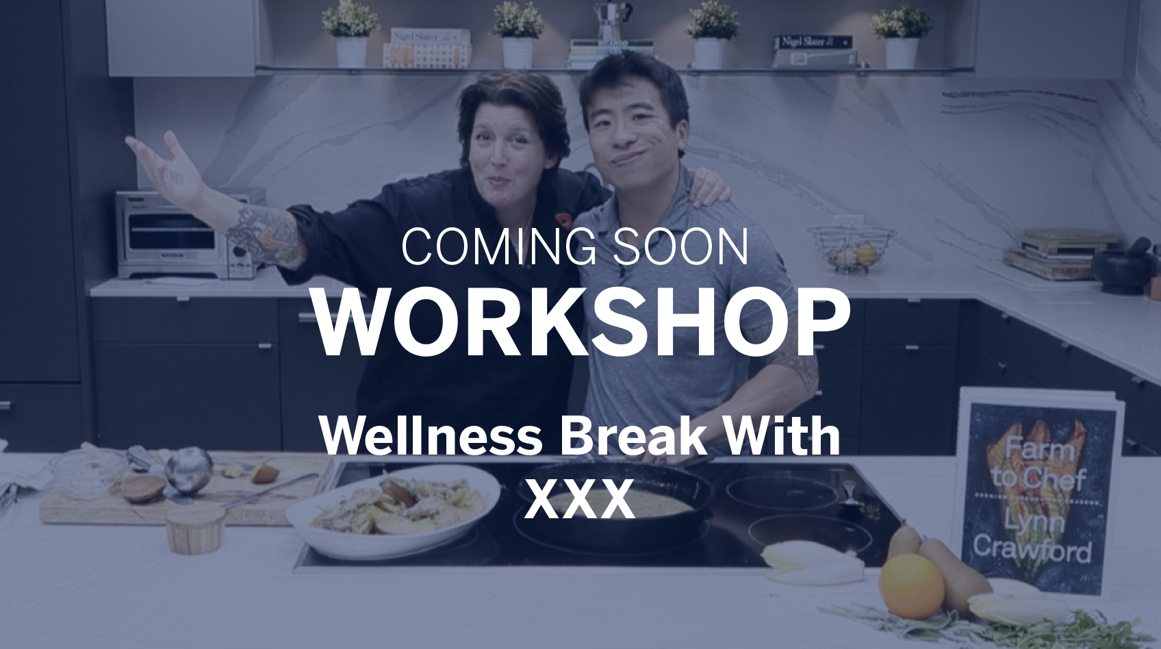Workshop - Wellness Break With XXX