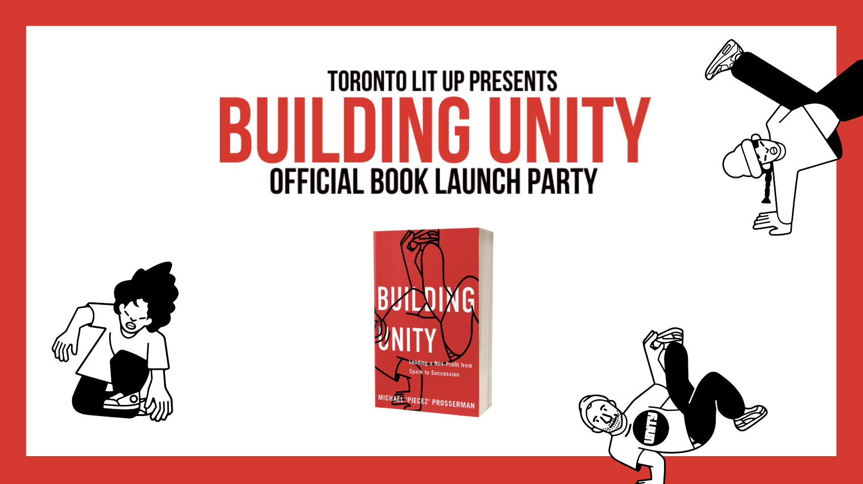 BUILDING UNITY BOOK LAUNCH PARTY!